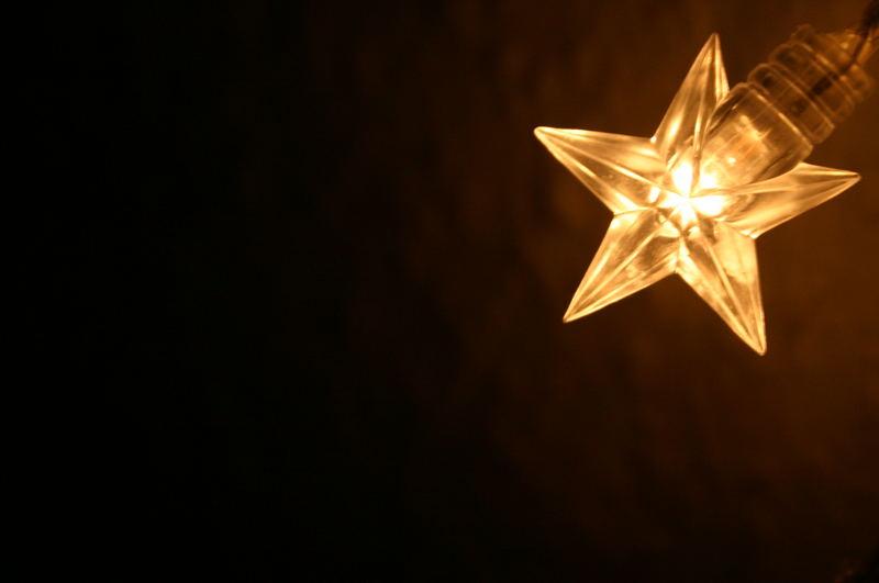 Ein Licht in dunkler Nacht...