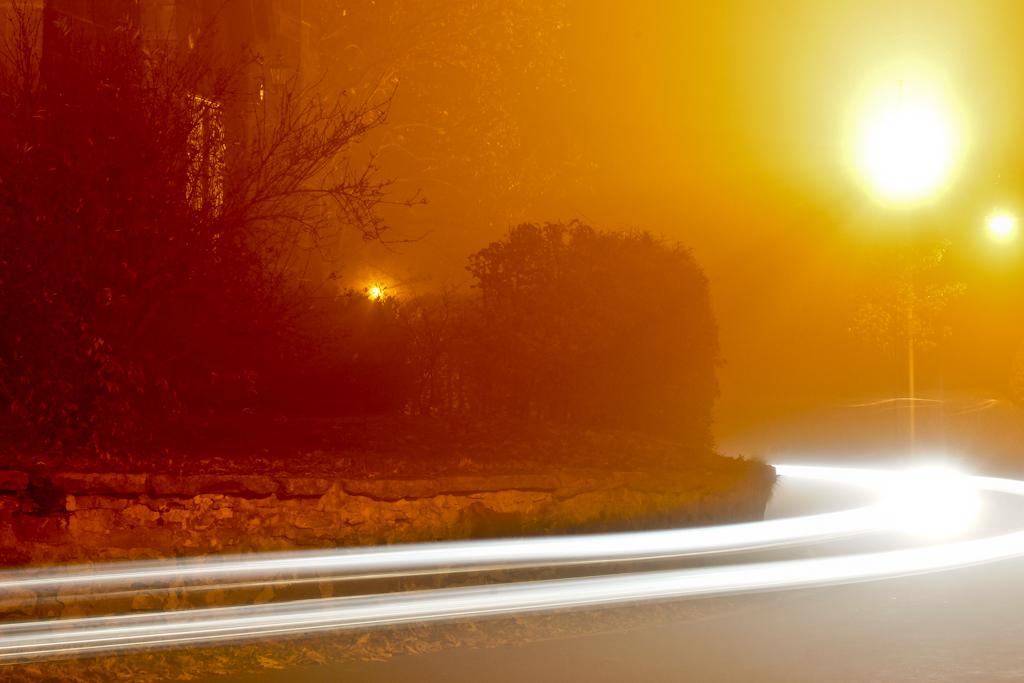 Ein Licht zieht vorrüber...