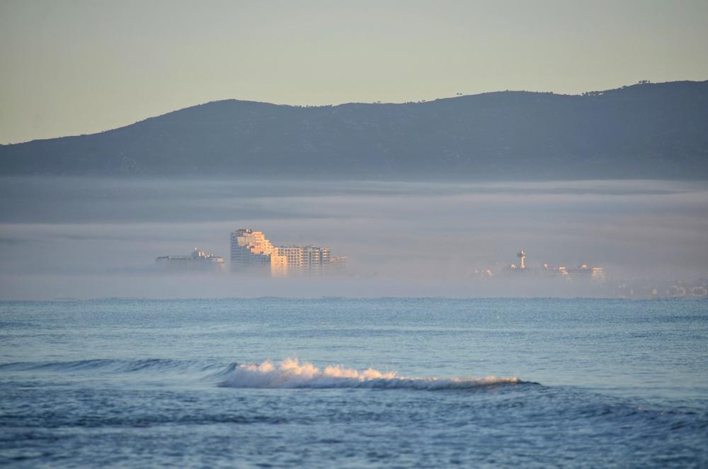 ein Lichtblick aus dem Nebelmeer