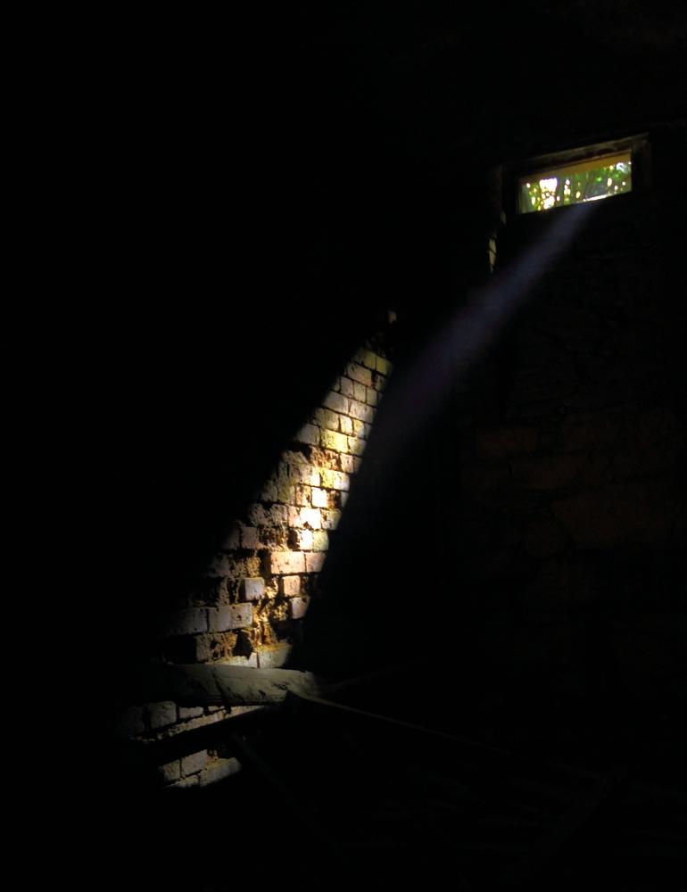 ein Lichtstrahl