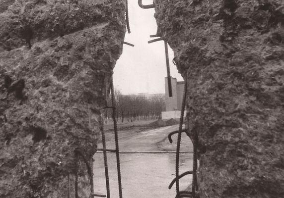 Ein Loch in der Mauer