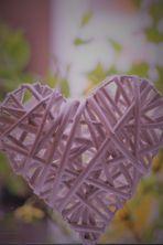 ein luftiges transparentes Herz .......(mit Narben)