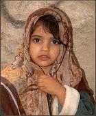 ein Mädchen in Jiblah