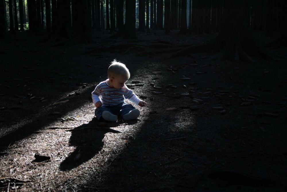 Ein Männlein sitzt im Walde...