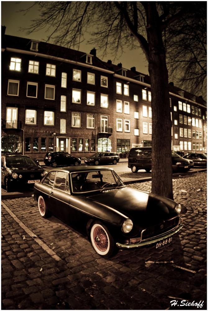 Ein MG in Rotterdam