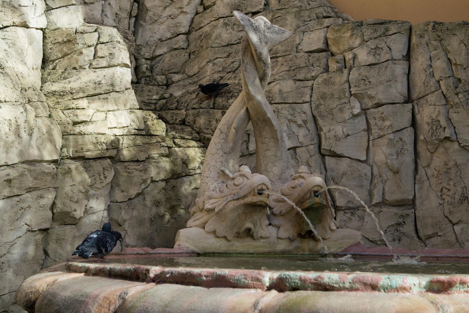 Ein Monegassischer Brunnen