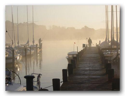 Ein Morgen am Chiemsee