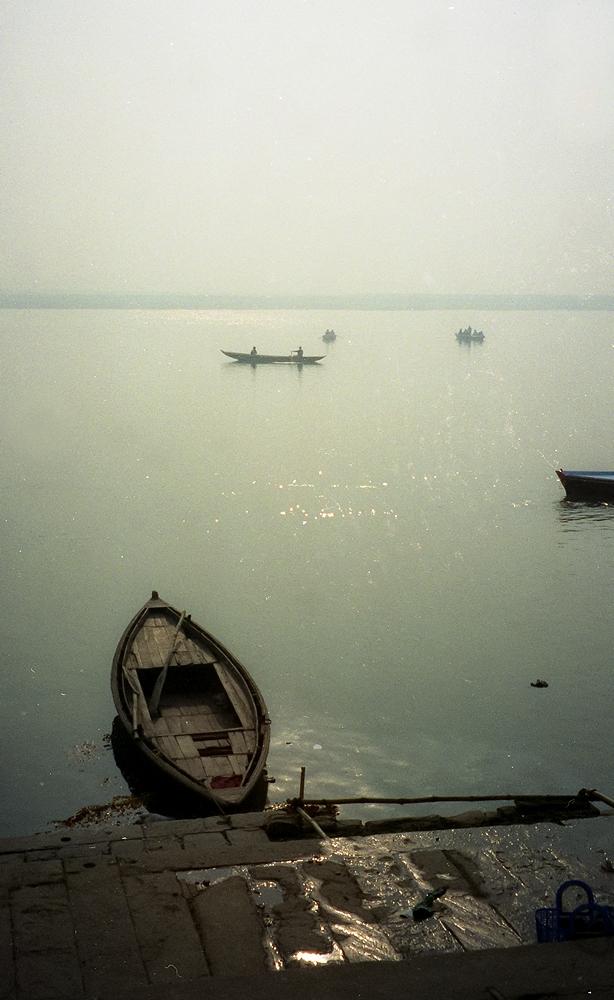 Ein Morgen am Ganges