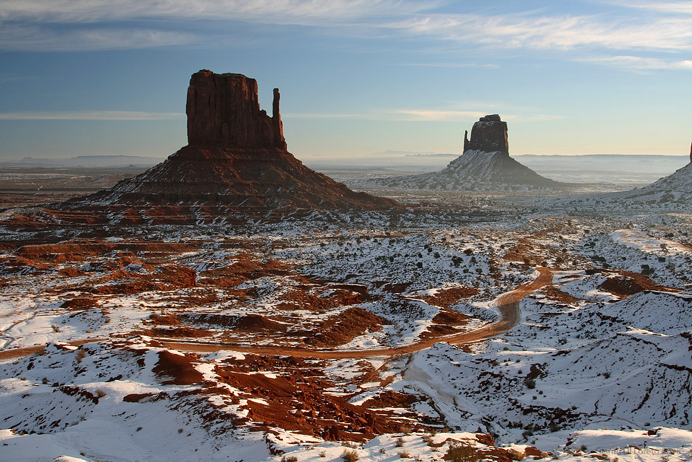 Ein Morgen am Monument Valley