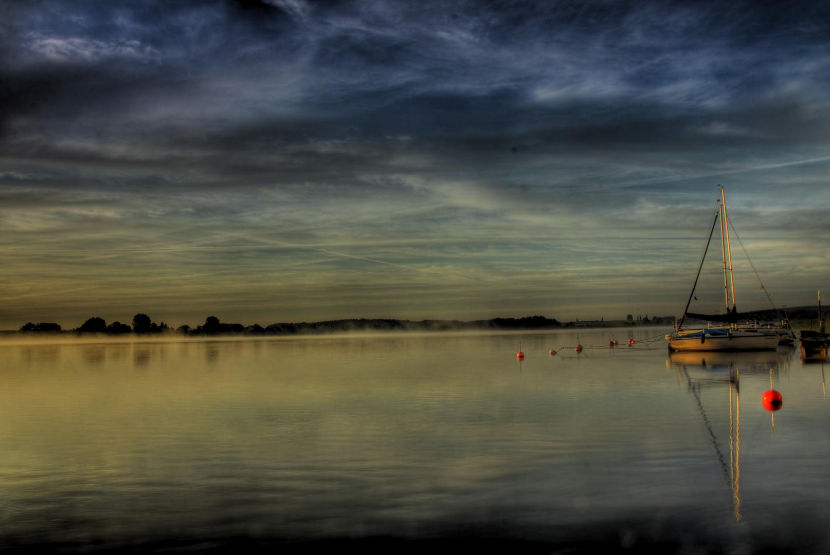 Ein Morgen am See