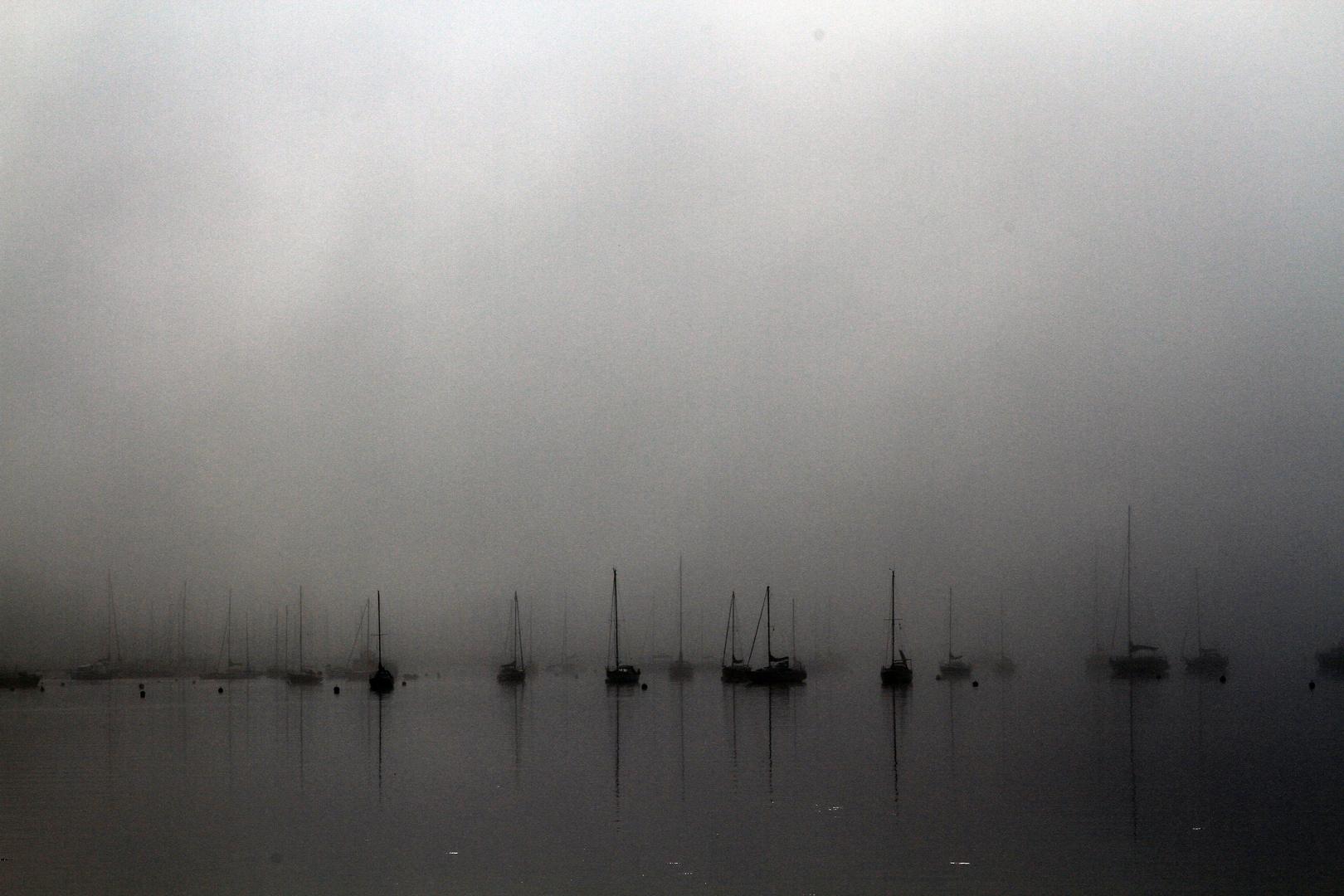 Ein Morgen an der Ostsee