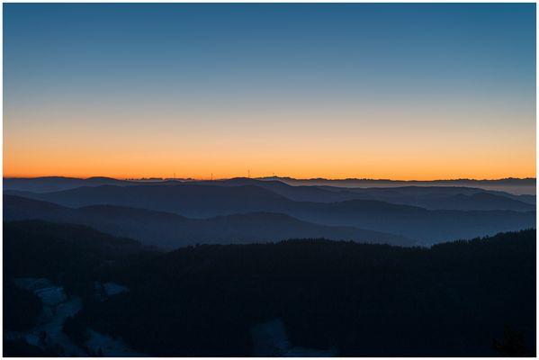 Ein Morgen auf dem Hochblauen (Badenweiler) I
