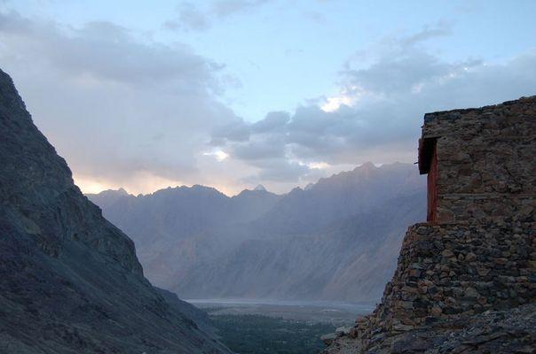 Ein Morgen im Himalaya