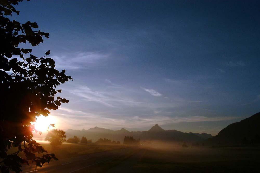 Ein Morgen im September