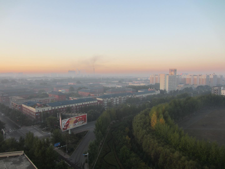 Ein Morgen in China