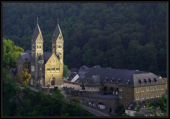 Ein Morgen in Clervaux (Luxemburg)