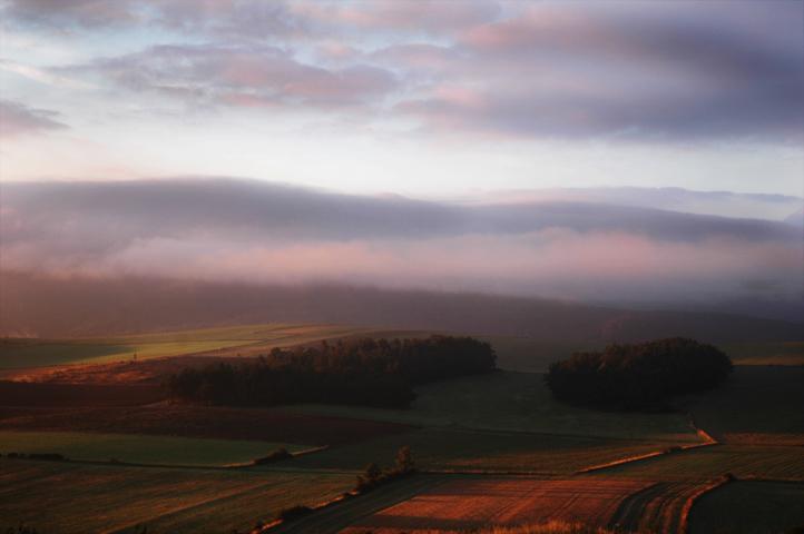 Ein Morgen in der Causse Méjean