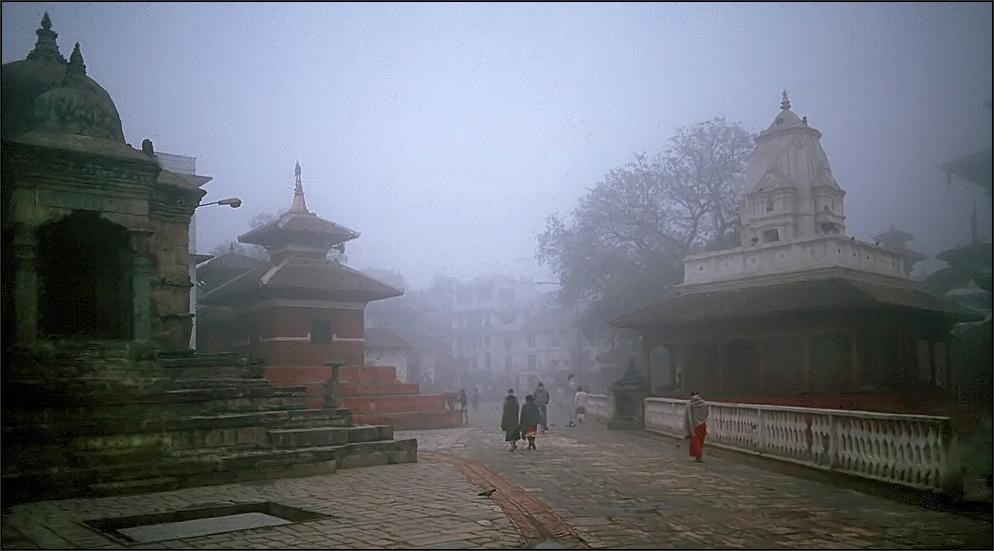 * Ein Morgen in Kathmandu *