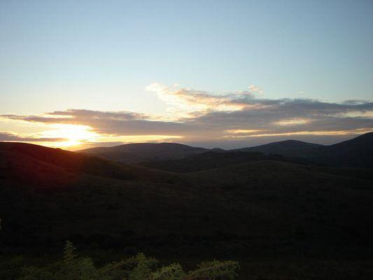 Ein Morgen in Südafrika