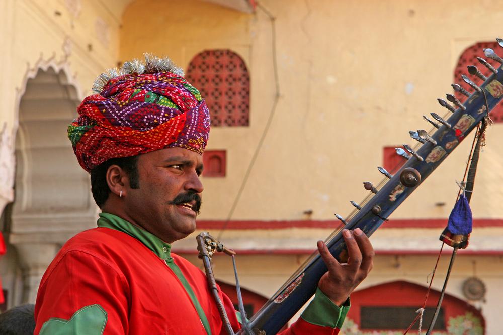 Ein Musiker