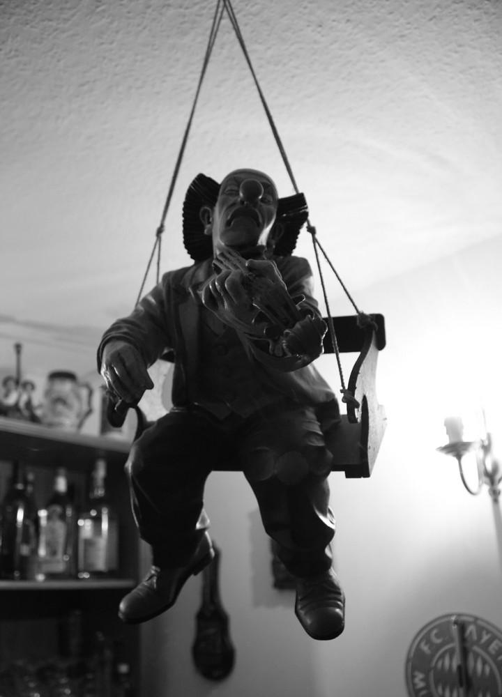 Ein Musiker ohne Bogen