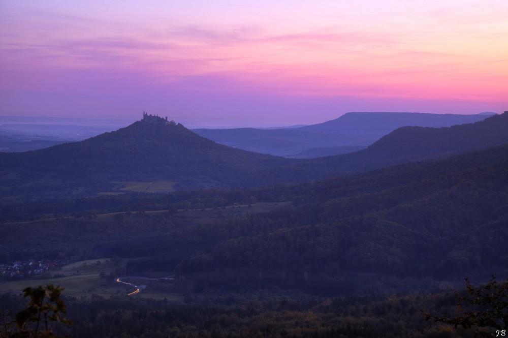 Ein neuer Morgen auf Burg Hohenzollern