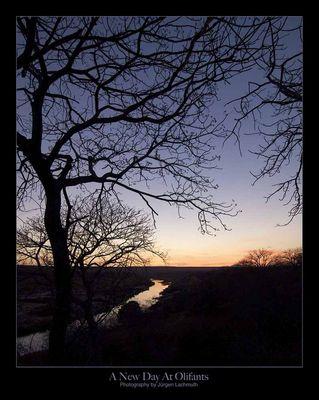 Ein neuer Tag am Olifants River...