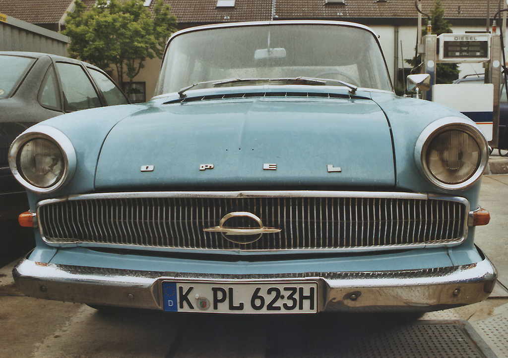 Ein Opel-Kapitän