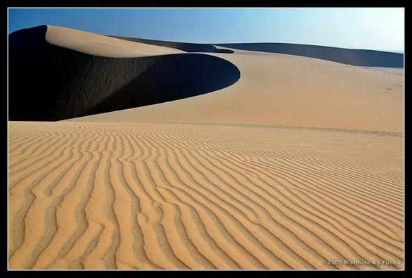 ein paar Sandkörner....