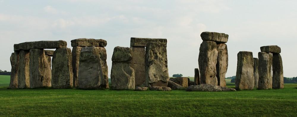 Ein paar Steine in der Landschaft