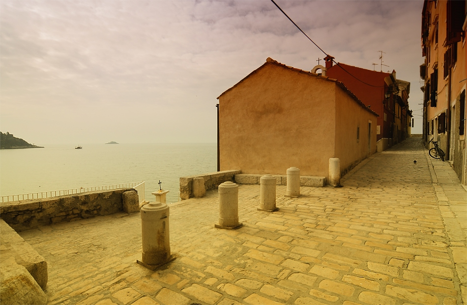 ... ein paar Stunden in Rovinj / Kroatien