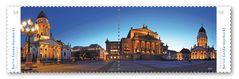 Ein Panorama von mir als offizielle Briefmarke