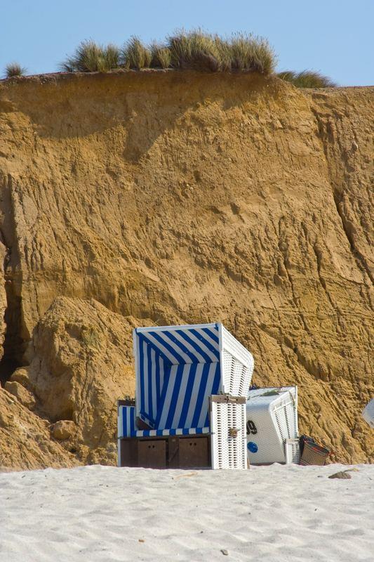 Ein Platz am roten Kliff - Sylt / Kampen