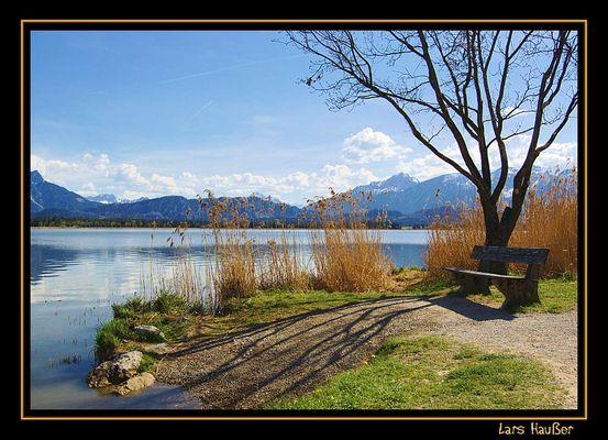 Ein Platz am See...