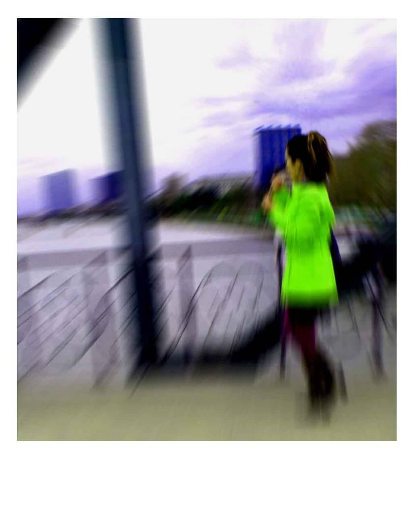 ein Polaroid