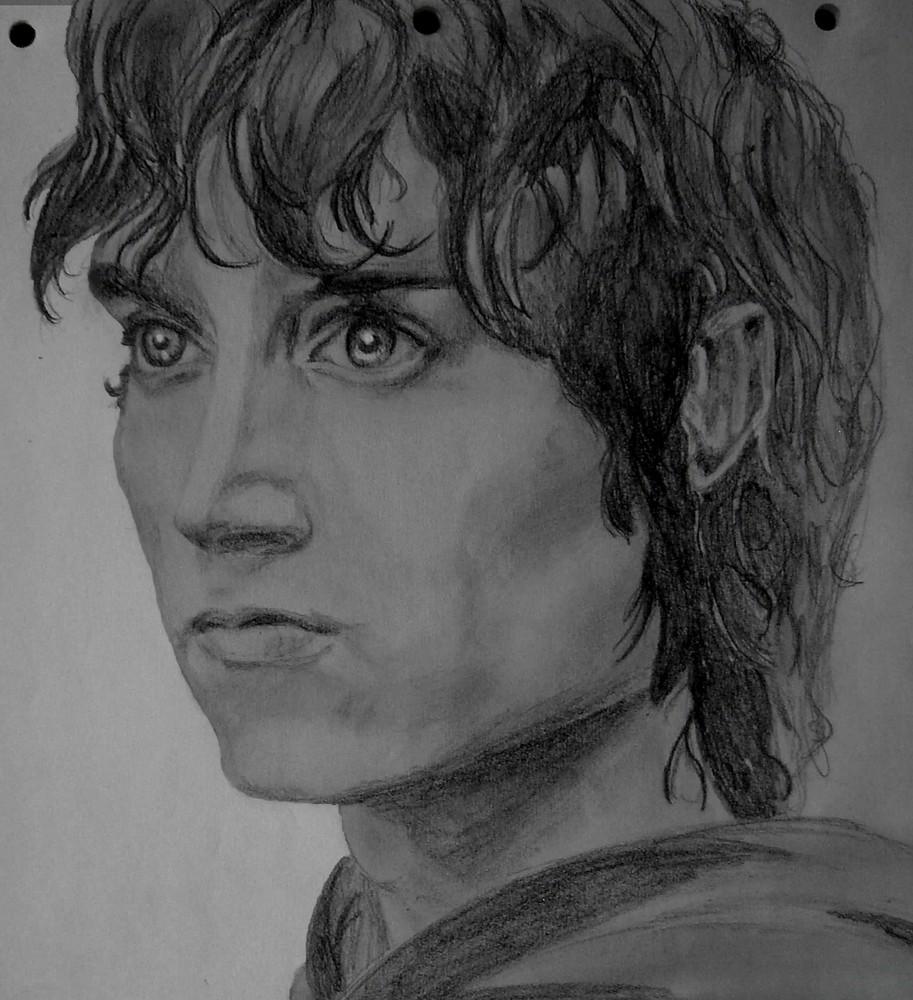 ein portrait von frodo