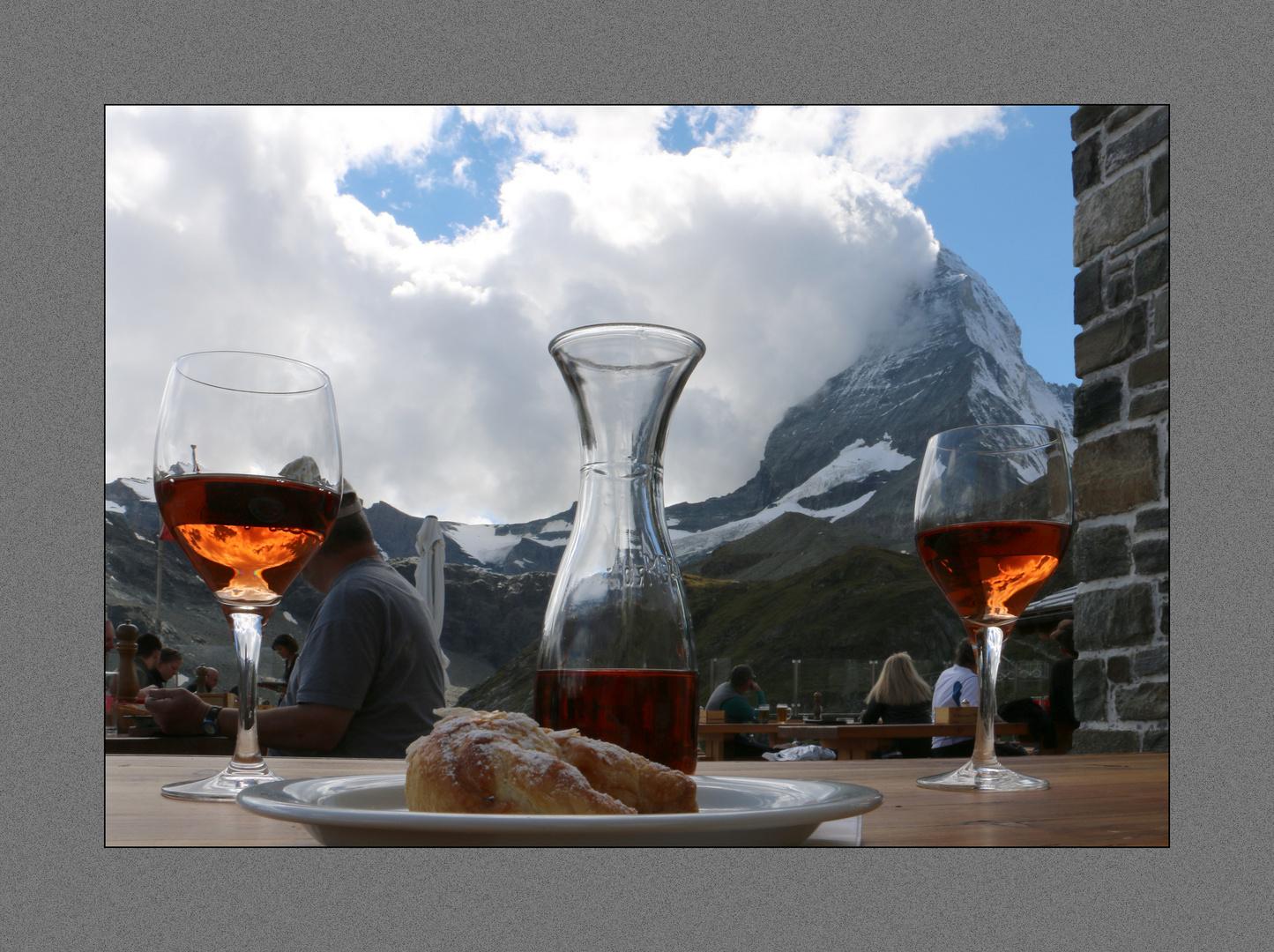 ein Prost aufs Matterhorn !