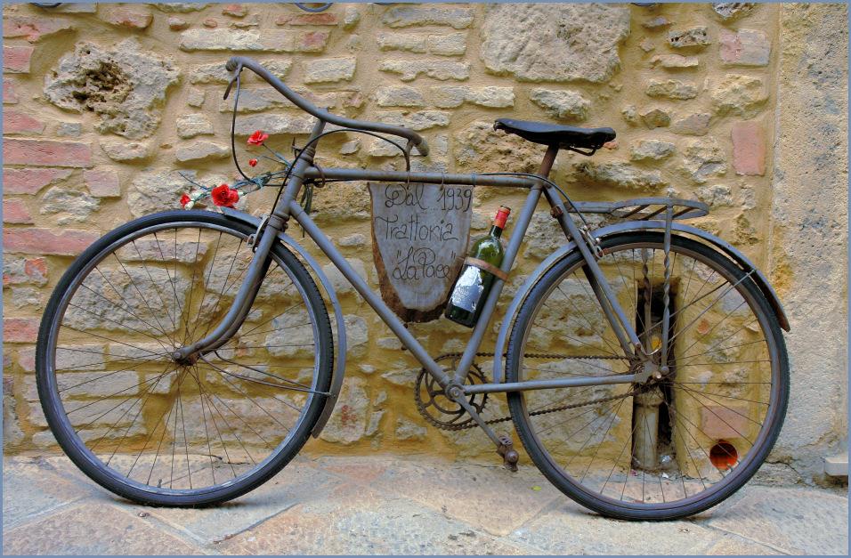 Ein Rad für die Tour de France....