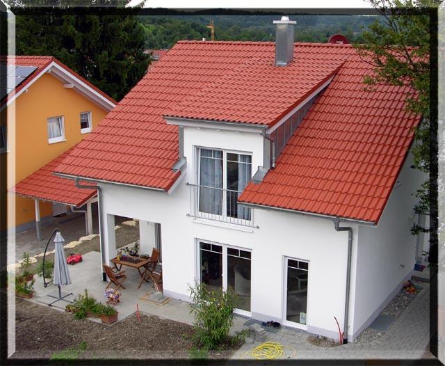 Ein Rahmen um das Eigenheim