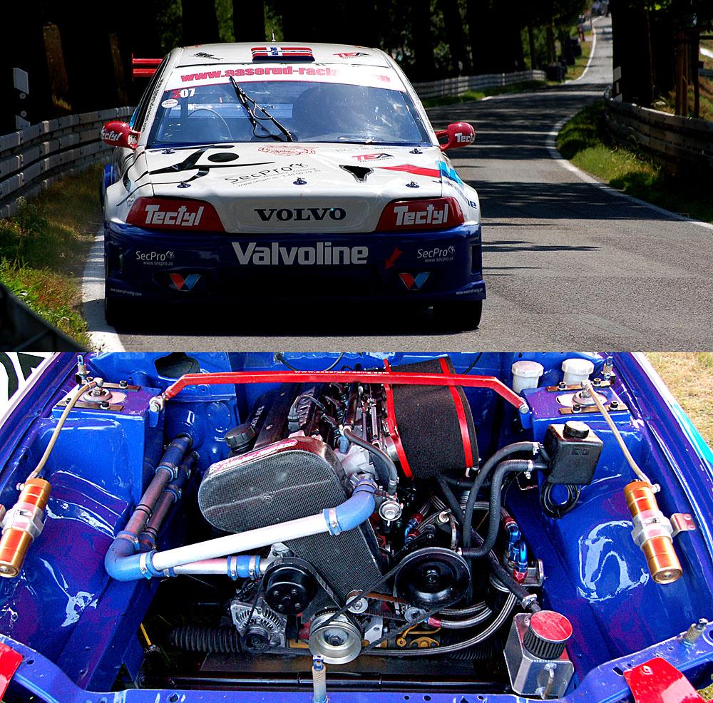 ein Rallyecross Volvo V40 in OS 2013 ... #1