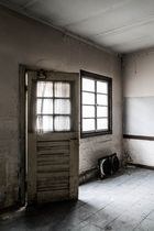Ein Raum in Hinterhof...