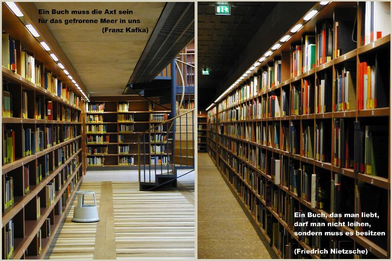 Ein Raum ohne Bücher