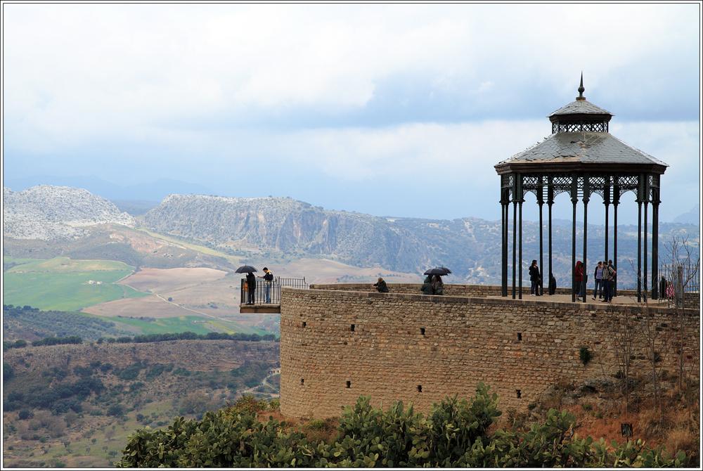 ein Regentag in Ronda