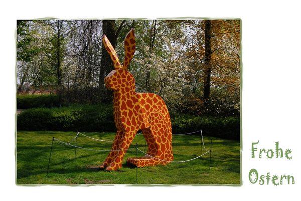Ein Riesen-Giraffen-Hase wünscht euch: