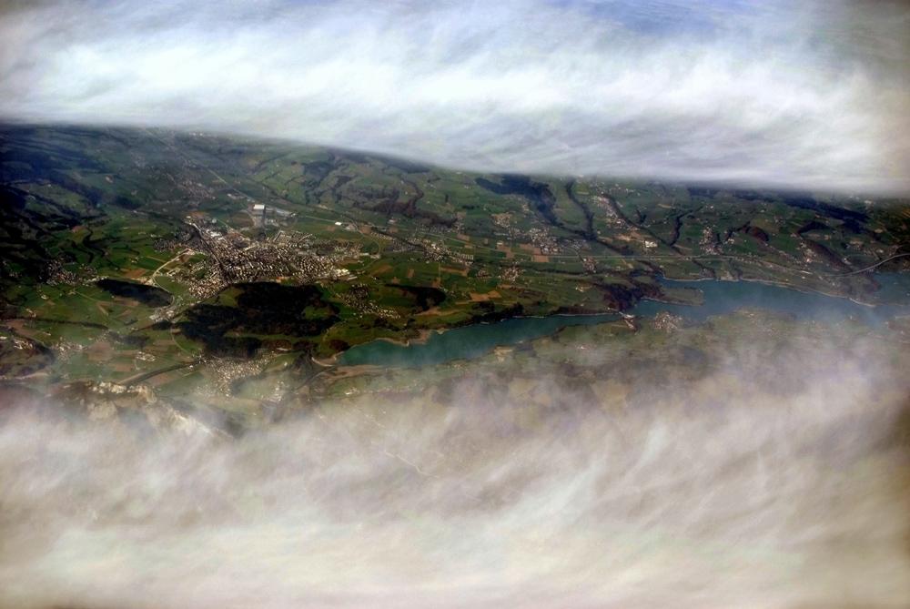 Ein Riss in der Wolkendecke