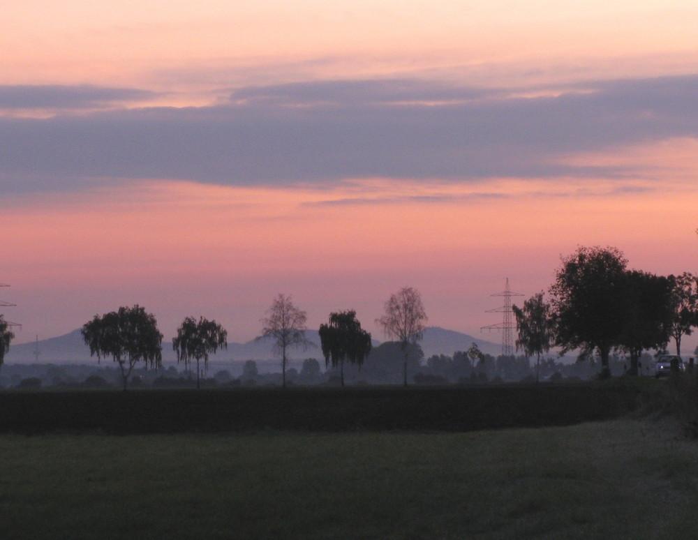 Ein rosaroter Morgen