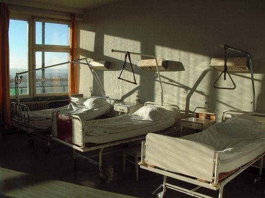 Ein ruhiger Tag im Krankenhaus