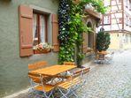 Ein ruhiges Plätzchen in Rothenburg