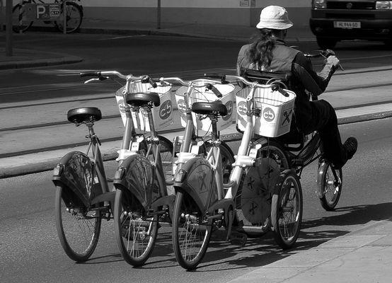 Ein- (satz) mit Rädern