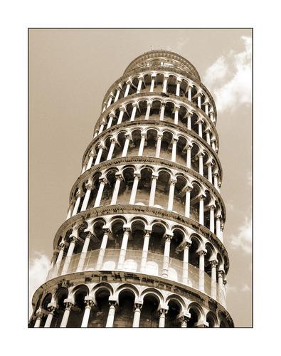 Ein schiefer Turm